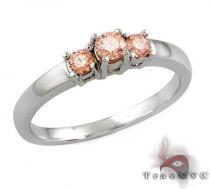 Ladies Pink Treasure Ring カラー ダイヤモンド リング