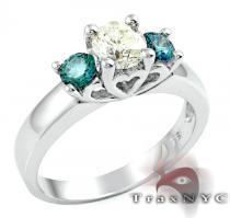 Ladies Magnificent Ring 2 カラー ダイヤモンド リング