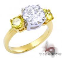 Ladies Two Tone Impeccable Ring カラー ダイヤモンド リング