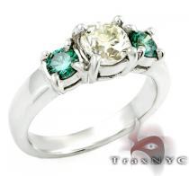 Ladies Magnificent Ring カラー ダイヤモンド リング