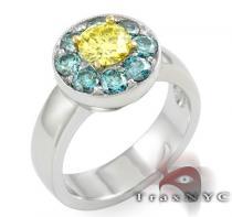 Sunflower Ring カラー ダイヤモンド リング