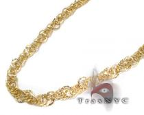 Ladies Yellow Gold Necklace Gold