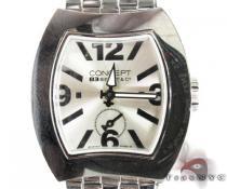 Concept Silver Dial Watch CB03 SSB スペシャルウォッチ