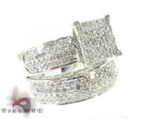 Beverly Wedding Ring Set 結婚指輪 ダイヤモンド セット