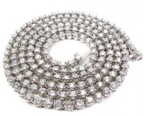 Polar Iced Diamond Chain 24 Inches 34.00 Grams Diamond Chains