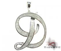 Mighty D Pendant Metal