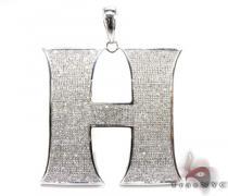 Mighty H Pendant Diamond Pendants