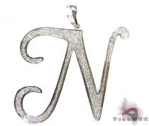 Iced N Pendant Diamond Pendants